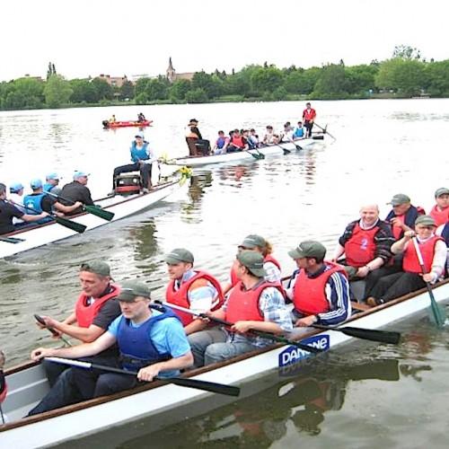 Drachenbootrennen als teamevent