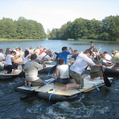 Abenteuer Floßbau