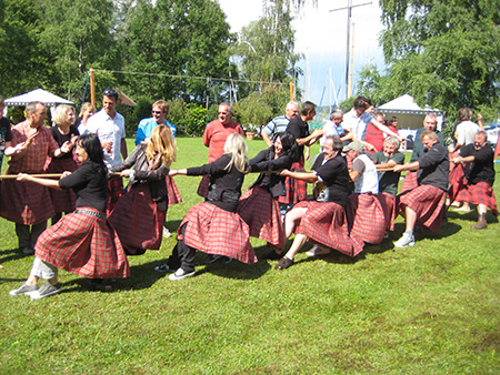 Highland games - das teamevent