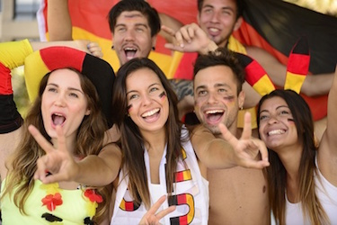 EM Fussball Fieber für Firmenfeier