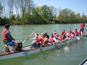 Drachenbootsrennen Teamevent