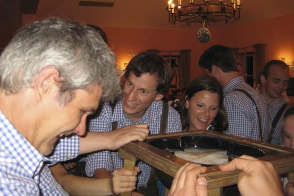 bayerischer teamevent