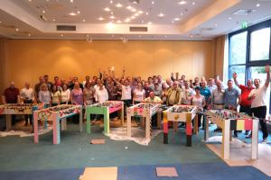 Tischkickerbau und Turnier