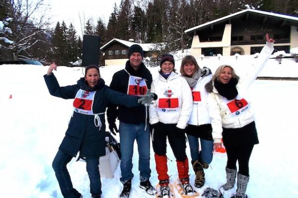 Schneeschuh-Biathlon