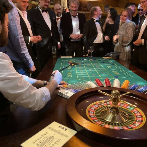 Casino als Firmenevent