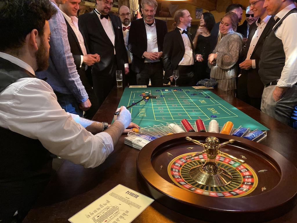 Casino als Firmenevent