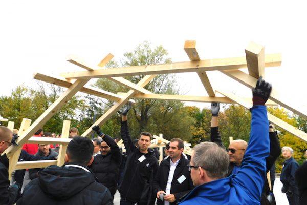 Brückenbau OPEN DOOR 4